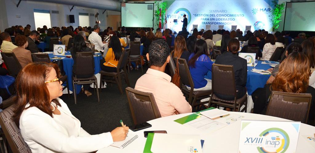"""Participantes seminario """"Gestión del Conocimiento para un Liderazgo Transformador"""" en el Hotel Sheraton"""