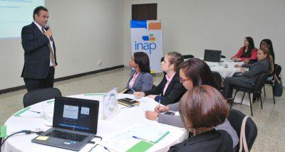 El INAP desarrolla Jornadas de Sensibilización para la definición del modelo conceptual del Sistema Nacional de Capacitación